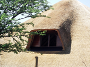 New Thatch Roof