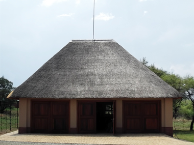 Repair of thatch roofs